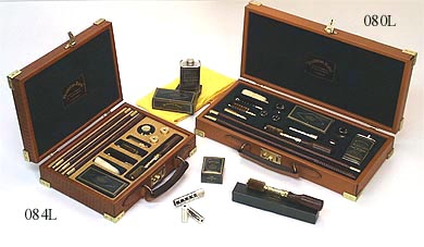 Deluxe Leather Gun Cleaning Kits