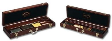 Deluxe Wooden Gun Cleaning Kits