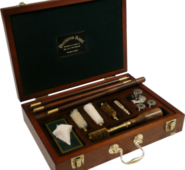 084 WINDSOR Mahogany Shotgun Presentation Grade Cleaning Kit